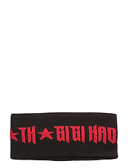 GIGI HADID HEAD BAND - BLACK
