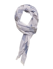 TOMMY NATURAL SCARF - BLUE MIX