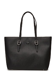 TH BUCKLE TOTE - BLACK