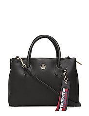 CHARMING TOMMY MED WORK BAG - BLACK/ GOLD