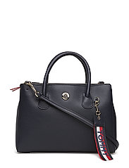 CHARMING TOMMY MED WORK BAG - TOMMY NAVY/ CORP STRIPE