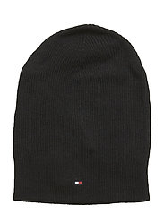 SOFT KNIT (NEW ODINE) BEANIE - BLACK