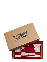 TJW STARS SCARF & BE - TOMMY RED