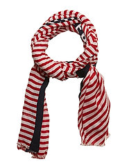 SAILING STRIPE PRINT - TOMMY RED
