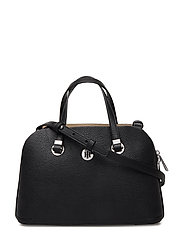 TH CORE MED SATCHEL - BLACK & WARM SAND