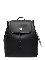 CHARMING TOMMY BACKPACK - BLACK & WARM SAND