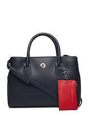 CHARMING TOMMY MED WORK BAG - TOMMY NAVY & TOMMY RED