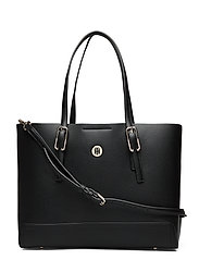 HONEY MED TOTE - BLACK