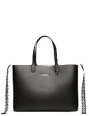 ICONIC TOMMY TOTE - BLACK