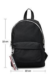 Tommy Hilfiger - TJW LOGO TAPE MINI B - backpacks - black - 5