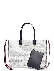 ICONIC TOMMY TOTE TRANSPARENT - TRANSPARENT MONOGRAM