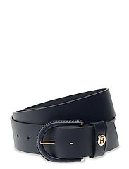 HIGH WAIST OVAL BUCKLE BELT 4.5 - SKY CAPTAIN