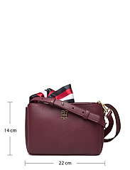 Tommy Hilfiger - CHARMING TOMMY CROSS - shoulder bags - deep rouge - 5
