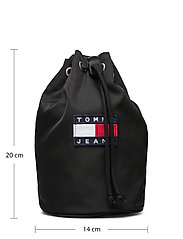 Tommy Hilfiger - TJW HERITAGE SLING BAG - laukut - black - 5