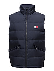 NYLON DOWN VEST - NAVY BLAZER