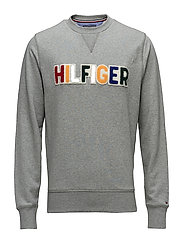 PLAYFUL LOGO SWEATSHIRT - CLOUD HTR