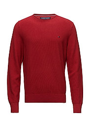 PRE-TWISTED RICECORN CNECK - HAUTE RED HTR