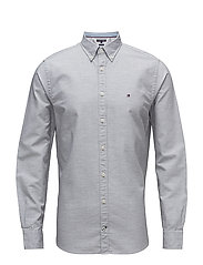 HEATHER OXFORD SHIRT - CLOUD HTR