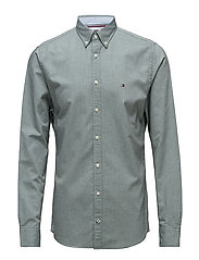 HEATHER OXFORD SHIRT - FOREST BIOME