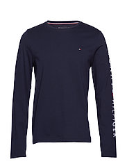 TOMMY LOGO LONG SLEE - SKY CAPTAIN
