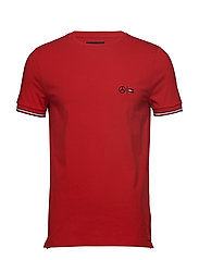 2 MB CLIMATE CONTROL TEE - HAUTE RED