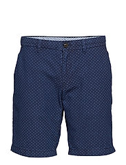 BROOKLYN SHORT MINI PRINT - INDIGO