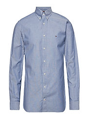 ORGANIC OXFORD SHIRT - BLUE QUARTZ