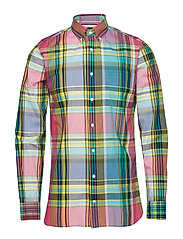 LARGE MADRAS CHECK SHIRT - LILAC ROSE / MULTI