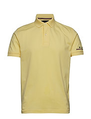 TOMMY LOGO REGULAR POLO - LEMON MERINQUE