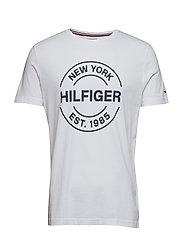 HILFIGER CIRCLE - BRIGHT WHITE