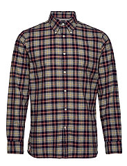 MULTI COLOR TARTAN SHIRT - CLOUD HTR / MARITIME BLUE / MU