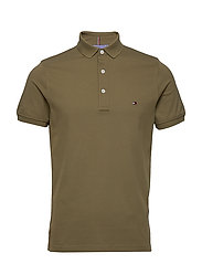 TOMMY SLIM POLO - FADED MILITARY