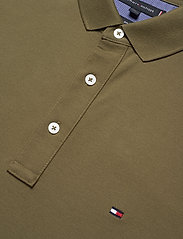 Tommy Hilfiger - TOMMY SLIM POLO - kortermede - faded military - 2