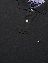 Tommy Hilfiger - HILFIGER REGULAR POL - kortermede - black heather - 2