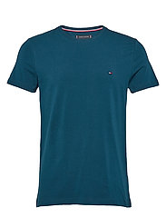 STRETCH SLIM FIT TEE - MARINER BLUE