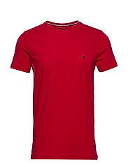 STRETCH SLIM FIT TEE - PRIMARY RED