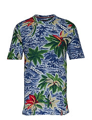 PALM ALL OVER PRINT - SNOW WHITE