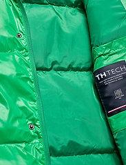Tommy Hilfiger - SHINY HOODED BOMBER - padded jackets - jolly green - 8