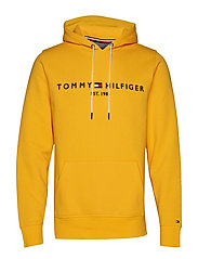 TOMMY LOGO HOODY - SPECTRA YELLOW