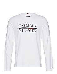 TOMMY HILFIGER LONG, - BRIGHT WHITE