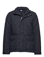 QUILTED JACKET - DESERT SKY