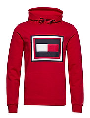 EMBOSSED AW HOODY - PRIMARY RED