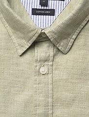 Tommy Hilfiger - COTTON LINEN TWILL SHIRT - basic shirts - faded olive - 2