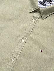 Tommy Hilfiger - COTTON LINEN TWILL SHIRT - basic shirts - faded olive - 3