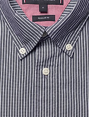 Tommy Hilfiger - FINE STRIPE SHIRT S/S - basic shirts - blue ink / white - 2