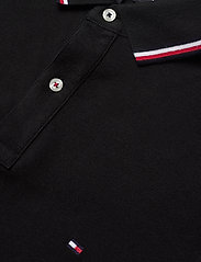 Tommy Hilfiger - CORE TOMMY TIPPED SLIM POLO - poloshirts - black - 2