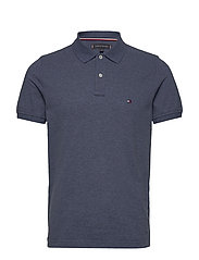 TOMMY HEATHER SLIM - FADED INDIGO HEATHER
