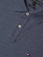 Tommy Hilfiger - TOMMY HEATHER SLIM - short-sleeved polos - faded indigo heather - 2