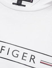 Tommy Hilfiger - CORP HILFIGER TEE - short-sleeved t-shirts - white - 3