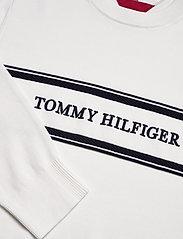 Tommy Hilfiger - ROPE LOGO SWEATER - pulls col rond - ecru - 2